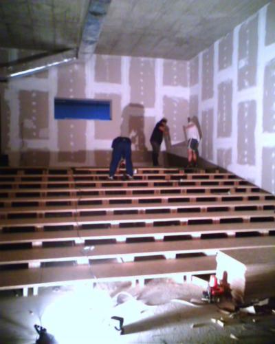 Firemní kinosál Praha Vršovice rok 2006 (2)