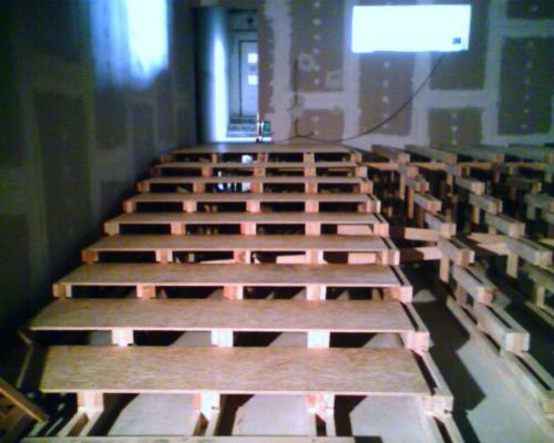 Firemní kinosál Praha Vršovice rok 2006 (3)
